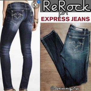 Great Butt Jeans ReRock for Express Skinny Jeans